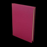 Щоденник недатований PERLA, A5, малиновий, фото 1