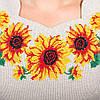 """Жіноча сукня з вишивкою """"Сонячне""""  хрестиком, фото 4"""