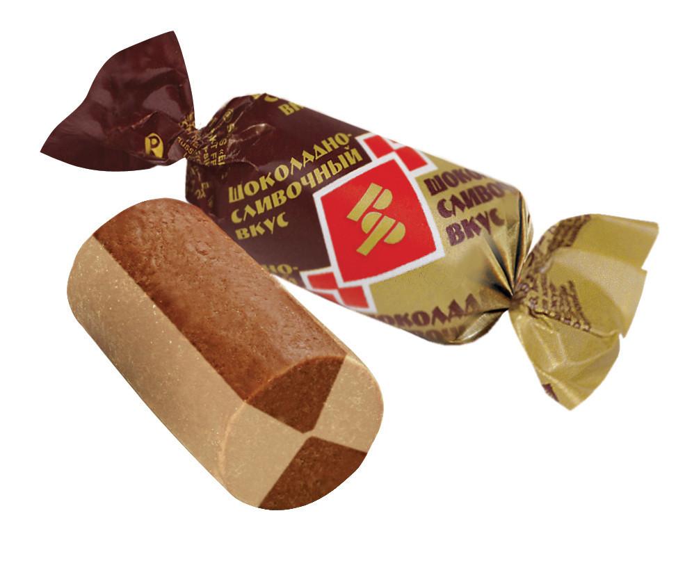 Цукерки ТМ Рот Фронт Батончик шоколадно-вершковий 1 кг.