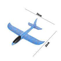 SALE! Планер пенопластовый PLG-48 самолёт с подсветкой!Розница и Опт, фото 3