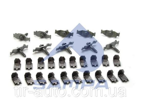 Комплект диска тормозного монтажный DAF 95XF, 85, 75, 65CF под клин ( 10 шт ) 76394CNT