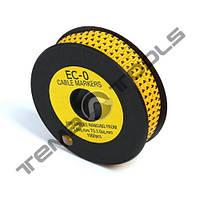 Маркер кабельный EC-0 до 1,5 мм²