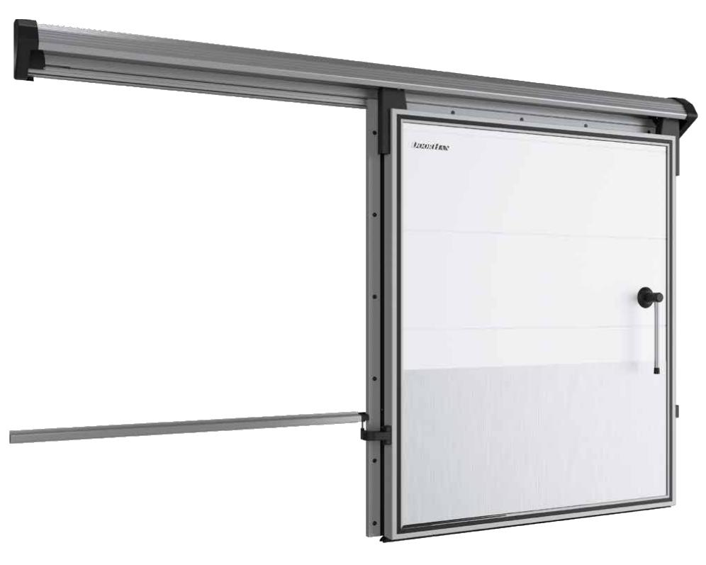 Дверь откатная для холодильных камер DoorHan IsoDoor IDS1