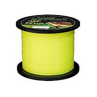 Леска Energofish Carp Expert UV Fluo Yellow 1000 м 0.25 мм 8.9 кг
