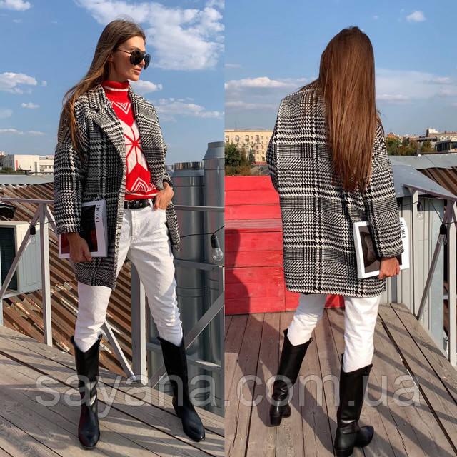 женское укороченное пальто
