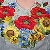 """Жіноча сукня з вишивкою """"Королівські квіти"""", фото 6"""