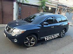 Дефлектора окон NISSAN Pathfinder  IV (R52) 2014