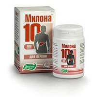 Милона - 10 100табл (печеночная) Заболевания печени, Дискинезии желчевыводящих путей, Холангит, Холецистит