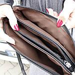 Женская сумка клатч черная (311), фото 3