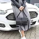 Женская сумка клатч черная (311), фото 5