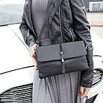 Женская сумка клатч черная (311), фото 4