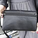 Женская сумка клатч черная (311), фото 6