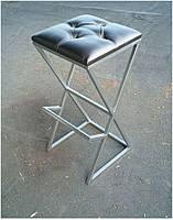 Стул барный Contour Loft BS-16, выбор цвета каркаса и сиденья, стиль лофт