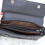 Женская сумка клатч черная (311), фото 8
