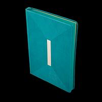 Щоденник недатований MEANDER, A5, бірюзовий, фото 1