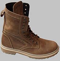 Берцы мужские кожаные зимние от производителя модель ТР1012Б, фото 1
