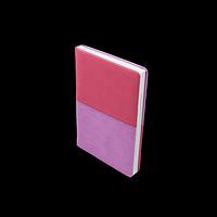 Щоденник недатований QUATTRO, A5, рожевий + бузковий, фото 1