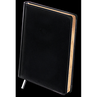Щоденник недатований BOSS, A4, чорний