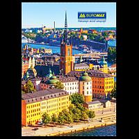 Книга канцелярська «Міста. Сезони» JOBMAX, А4, 96 аркушів, фото 1