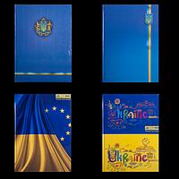 Книга канцелярська UKRAINE, А4, 96 аркушів, клітинка, фото 1