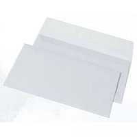 Конверт DL (100х220мм) білий СКЛ