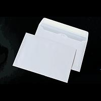 Конверт С5 (162х229мм) білий СКЛ з внутрішнім нанесенням (Термоупаковка)