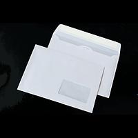 Конверт DL (110х220мм) білий СКЛ з вікном 45х90мм