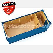 Блок-контейнер ЗИМА (6 х 2.4 м.), утепление базальт, тамбур