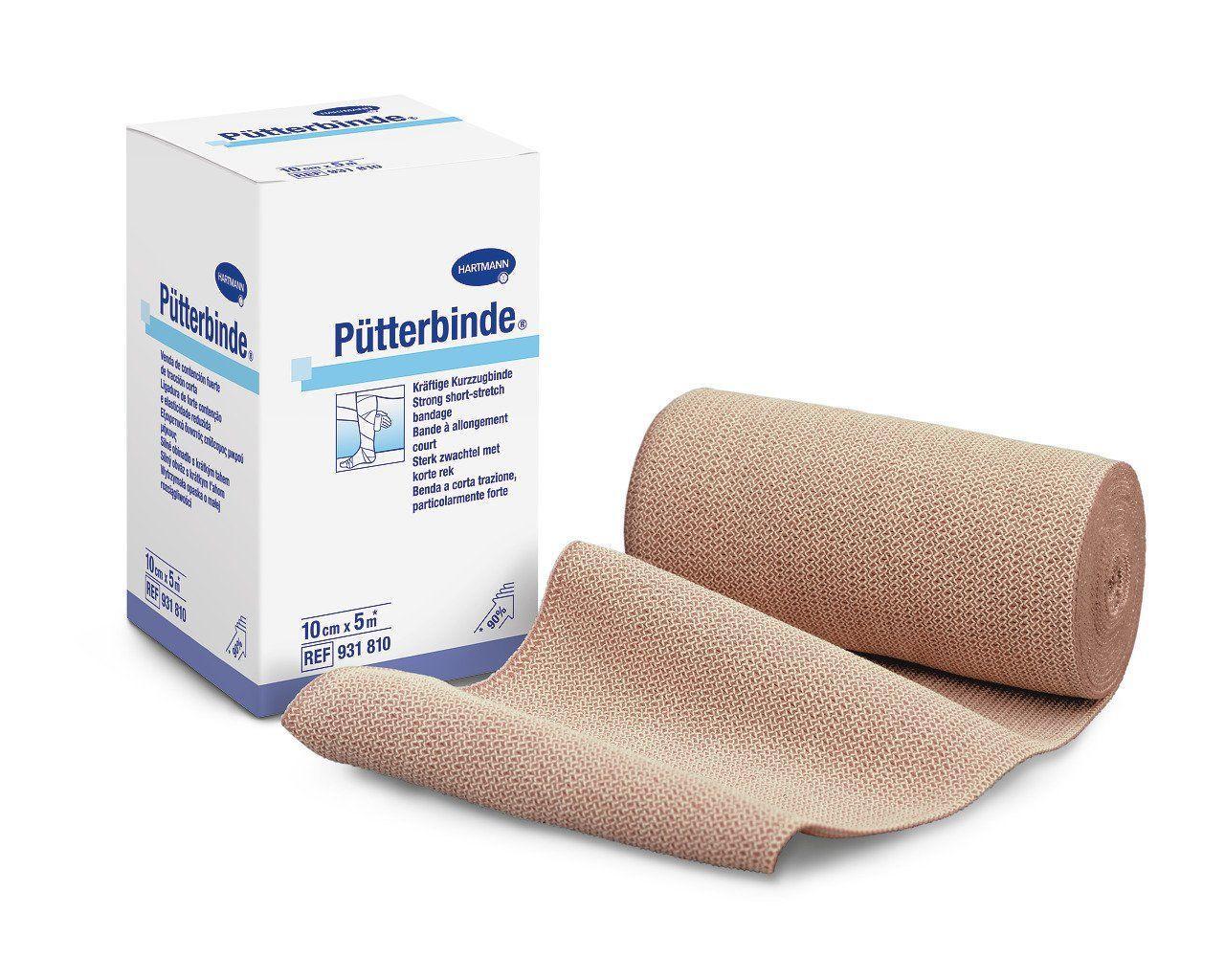 Бинт еластичний середньої розтяжності Pütterbinde® 12см х 5м 1шт