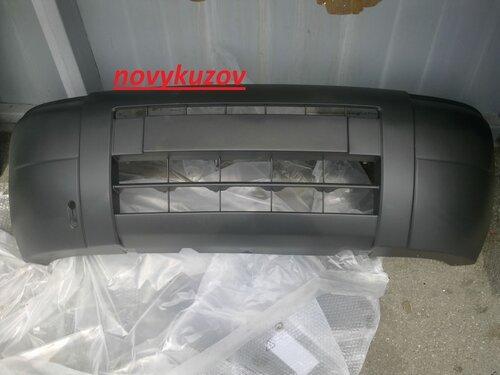 Бампер передний на Citroen Berlingo