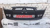 Бампер передний на Mitsubishi Lancer X с 2012 г.-