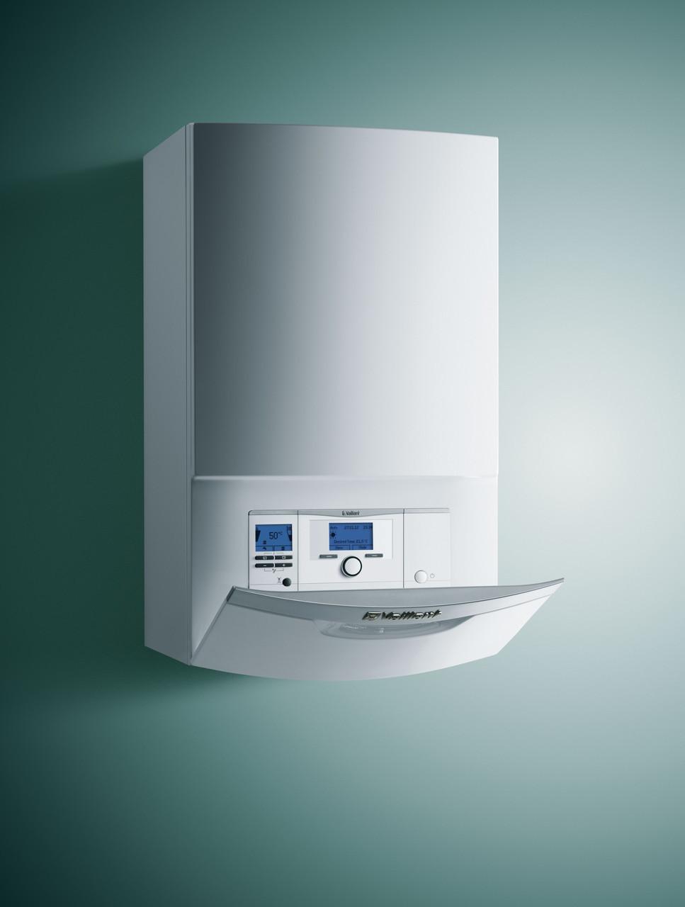 Конденсационный котел со встроенным приготовлением горячей воды Vaillant ecoTEC plus 25 кВт, ГВП 30 кВт