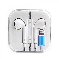 Наушники (гарнитура) Apple Earpods for iPhone 7 8 8(Plus) X XR lighting Bluetooth
