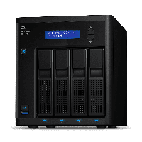 Western Digital WD My Cloud Pro PR4100 4Bay 8TB (4x2TB)  (WDBNFA0080KBK-40)