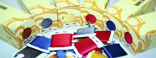 Нитки шовкові для вишивки (Sunny Silk, номери як у DMC)