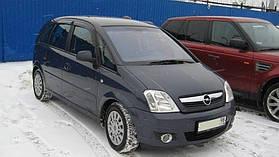 Дефлектора окон OPEL Meriva 2002-2006;2006