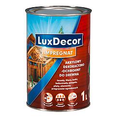 Акрилово-восковая пропитка LuxDecor 1л (Белый)