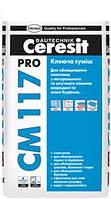 Ceresit CM 117 Pro клеящая смесь для натурального и искусственного камня, 27 кг