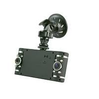 Авто-видеорегистратор V20 2 камеры + gps tracker complete