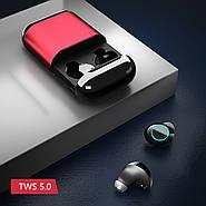 Беспроводные наушники Wi-pods S7 красные: распаковка