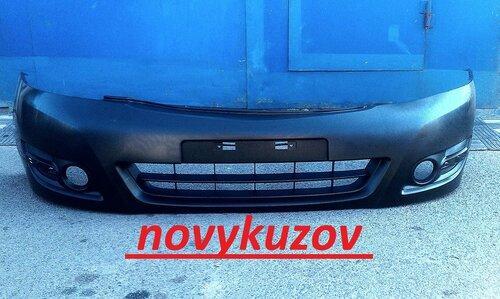 Бампер передний на Subaru Impreza
