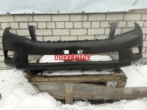 Бампер передний на Toyota Land Cruiser Prado 150