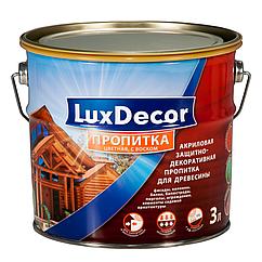 Акрилово-восковая пропитка LuxDecor 3л (Белый)