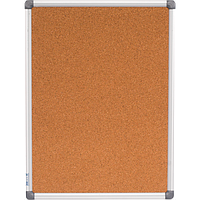 Дошка коркова, 45x60см, алюмінієва рамка