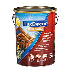 Акрилово-восковая пропитка LuxDecor 5л (Белый)