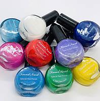 Набор из 10 лаков ( яркие цвета) для стемпинга