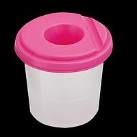 Стакан-непроливайка, рожевий, фото 1