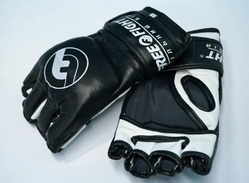 Перчатки MMA Free-Fight Gloves Black (4 унции), фото 2