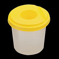Стакан-непроливайка, жовтий