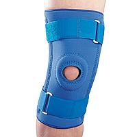 Бандаж на коленный сустав неопреновый со спиральными ребрами NS-706, S